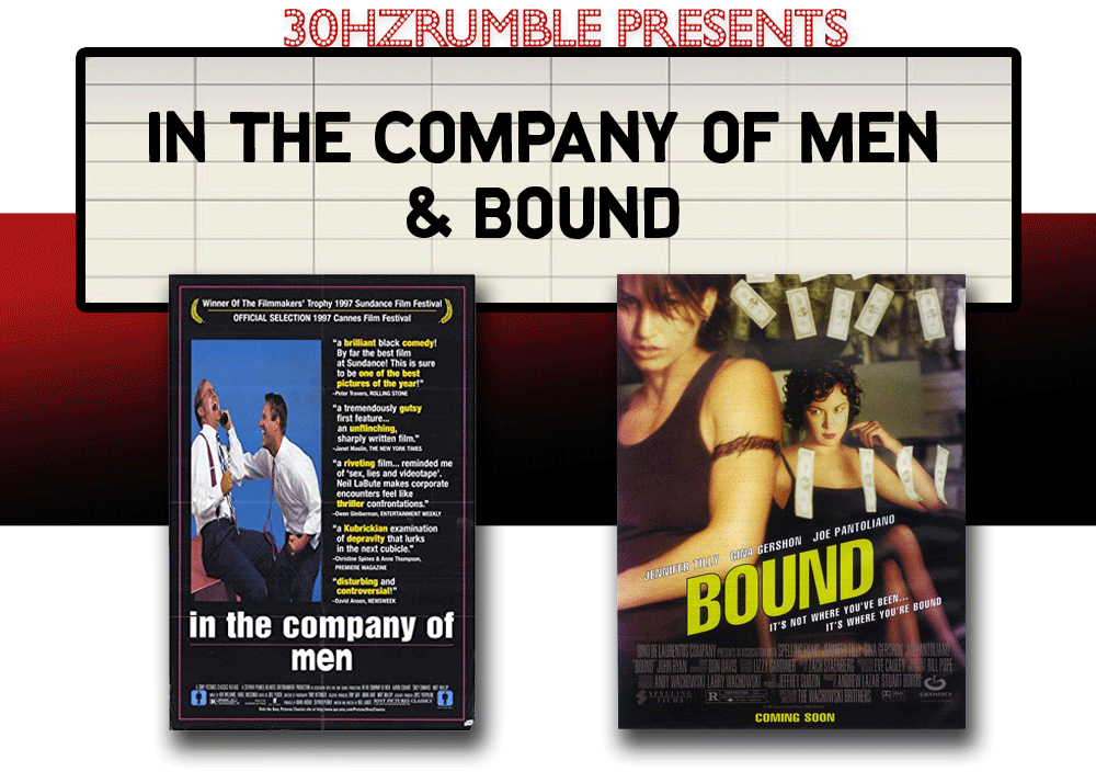 in the company of men bound double feature