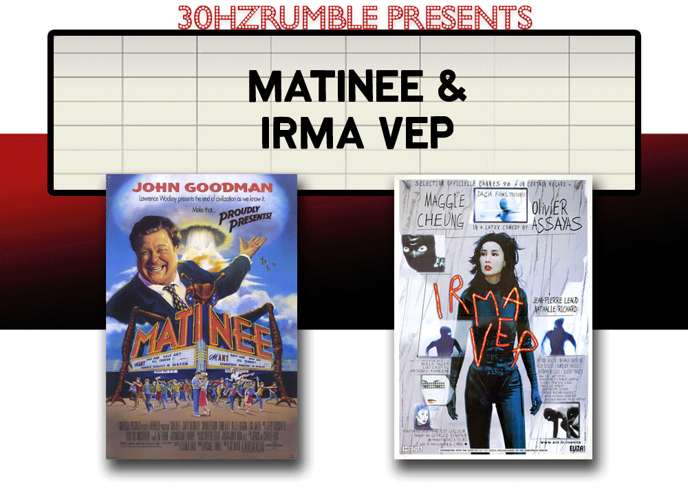 matinee irma vep double feature