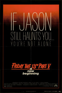 friday the 13th part V poster