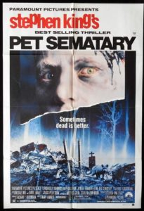 pet sematary 1989 poster