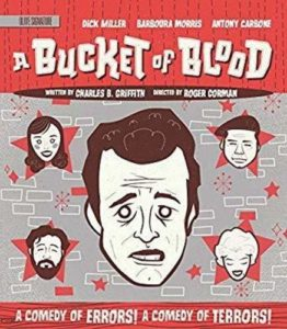 A Bucket of Blood Blu-ray from Olive Films