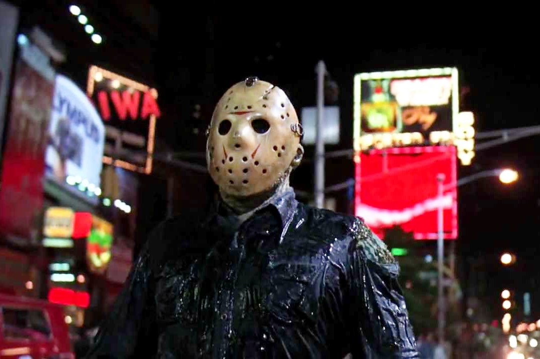 In Friday the 13th Part VIII Jason Takes Manhattan -- or does he?
