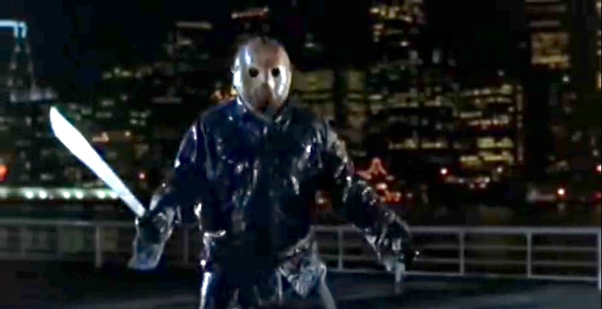 Friday the 13th Jason Takes Manhattan skyline