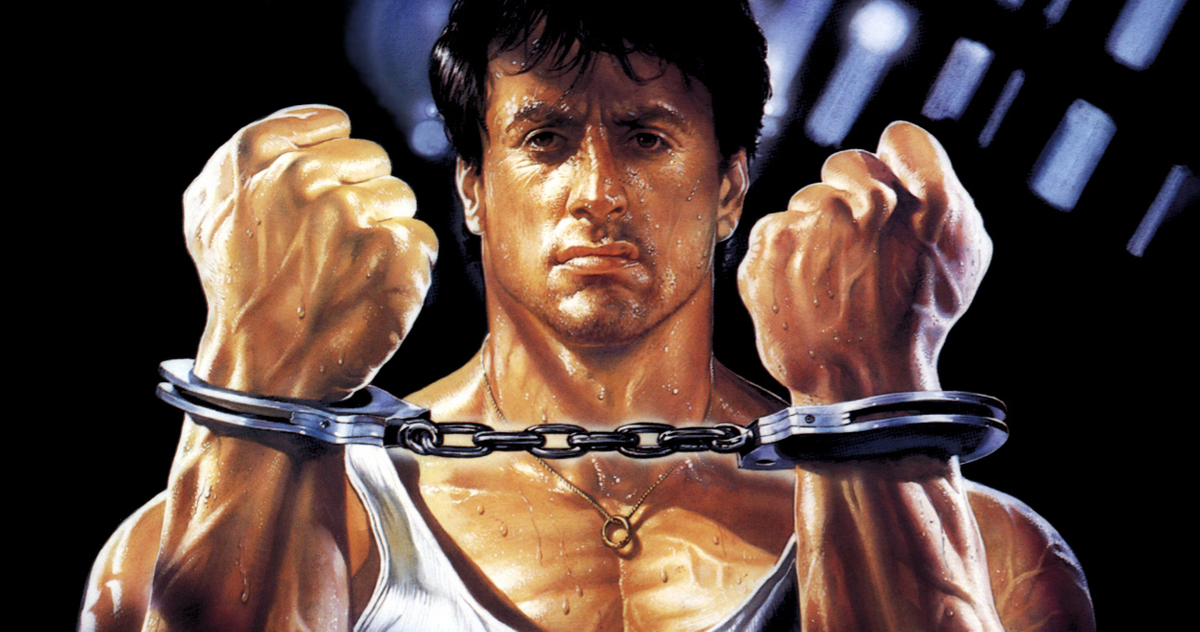 Sylvester Stallone Lock Up art