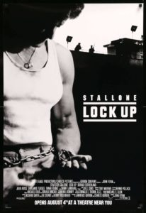 Lock Up original film art