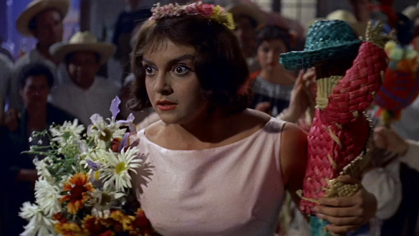 Liliane Montevecchi in The Living idol (1957)