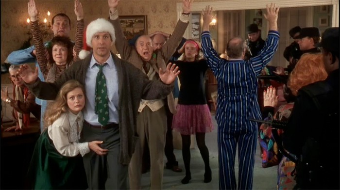 national lampoon's christmas vacation christmas eve