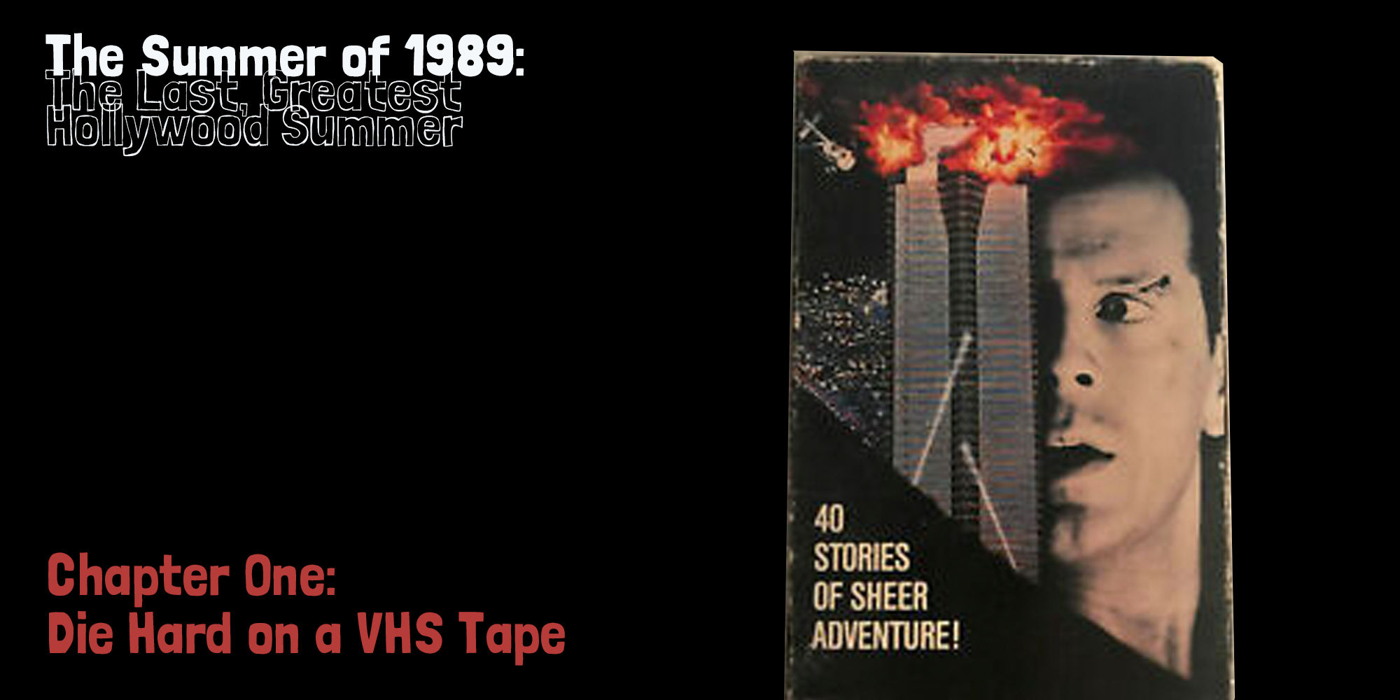 die hard on a vhs